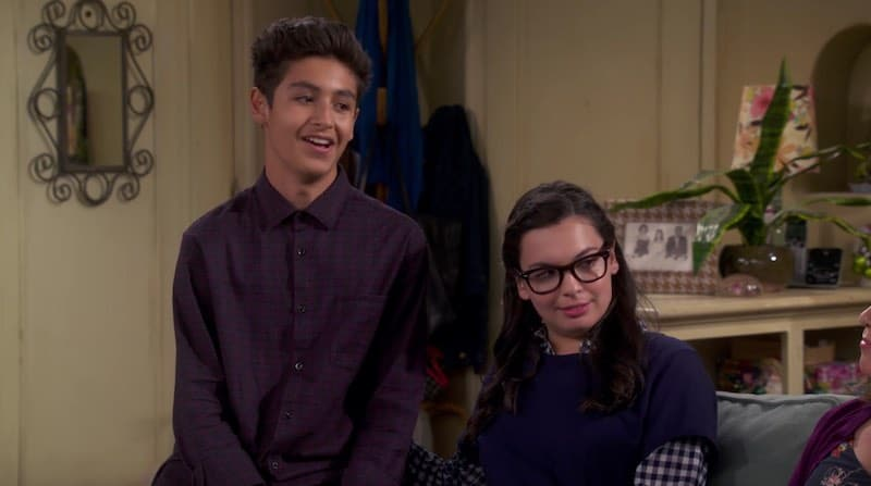 Marcel Ruiz and Isabella Gomez in One Day at a Time