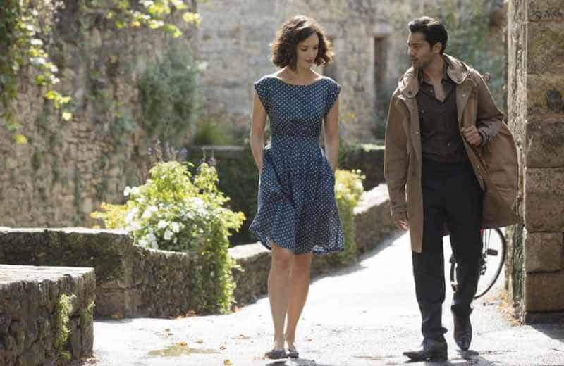 Charlotte Le Bon and Manish Dayal in The Hundred-Foot Journey