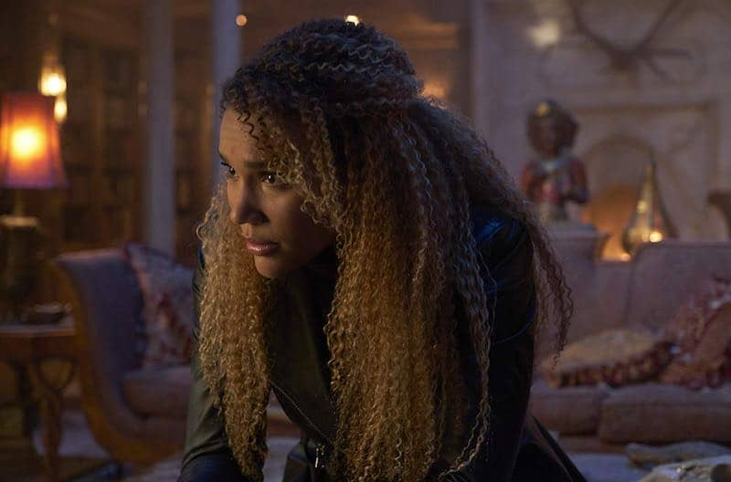 Emmy Raver-Lampman in The Umbrella Academy