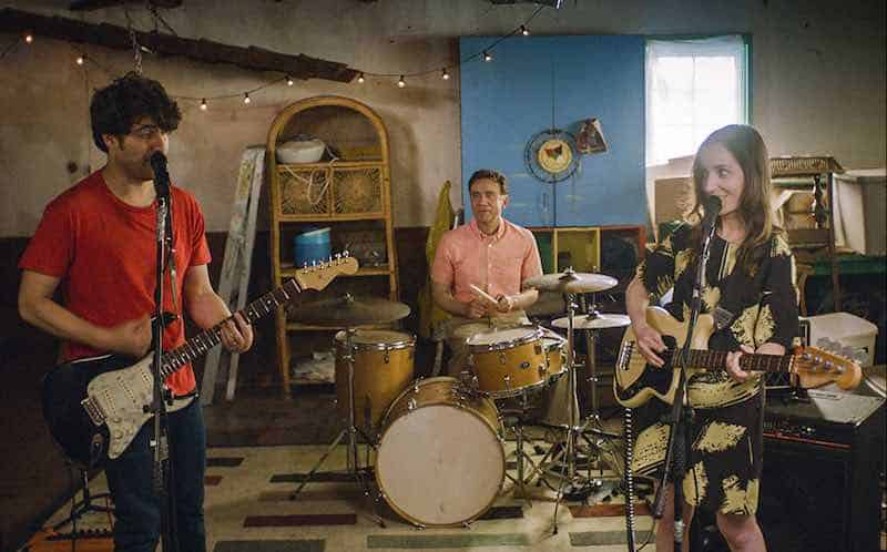 Adam Pally, Fred Armisen, and Zoe Lister-Jones in Band Aid