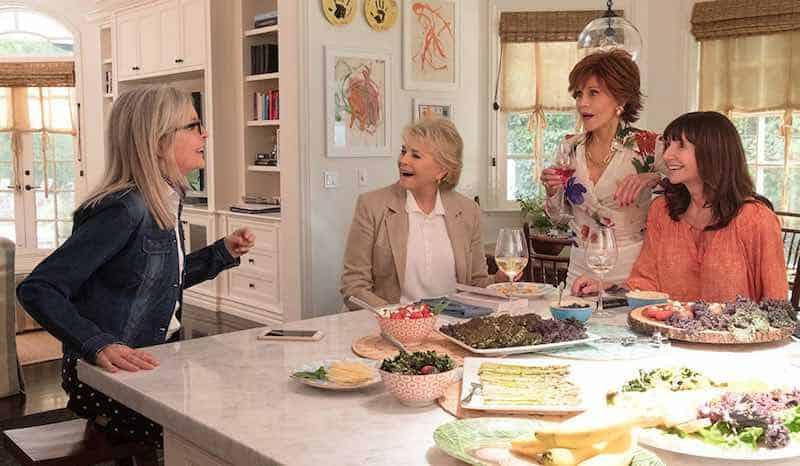 Candice Bergen, Jane Fonda, Diane Keaton, and Mary Steenburgen in Book Club