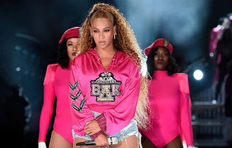 Beyoncé in Homecoming: A Film by Beyoncé