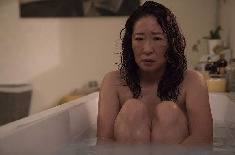 Sandra Oh in Killing Eve
