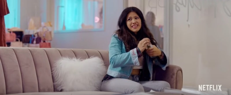 Gina Rodriguez in Someone Great