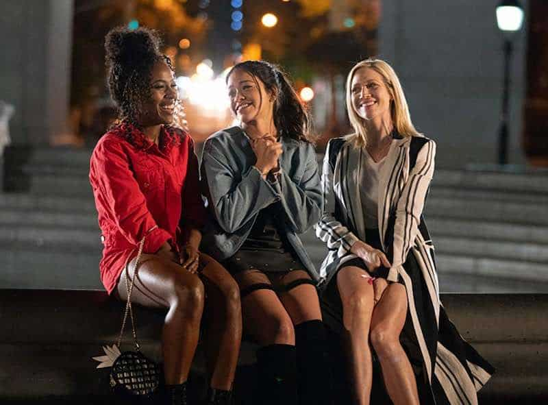 Brittany Snow, Gina Rodriguez, and DeWanda Wise in Someone Great
