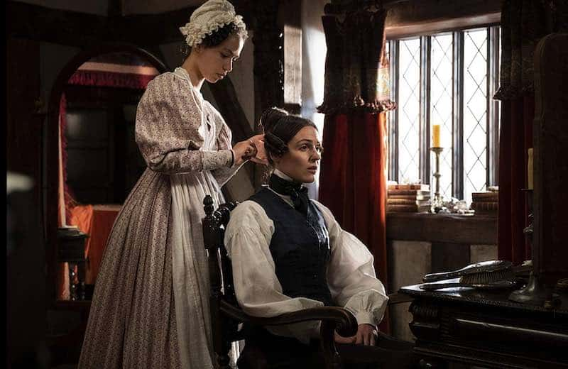 Suranne Jones and Albane Courtois in Gentleman Jack