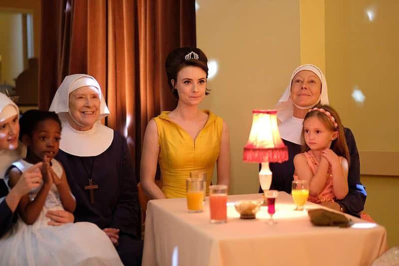 Jenny Agutter, Judy Parfitt, Jennifer Kirby, Alice Brown, and Ella Bruccoleri in Call the Midwife