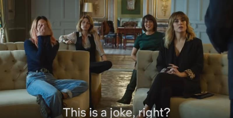Blanca Suárez, Amaia Salamanca, Belén Cuesta, and Macarena García in Despite Everything (A pesar de todo)