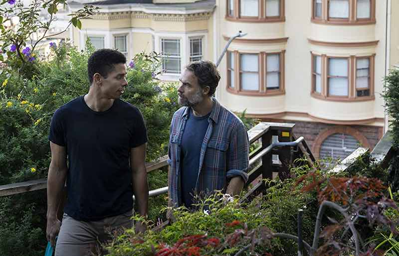Charlie Barnett and Murray Bartlett in Tales of the City