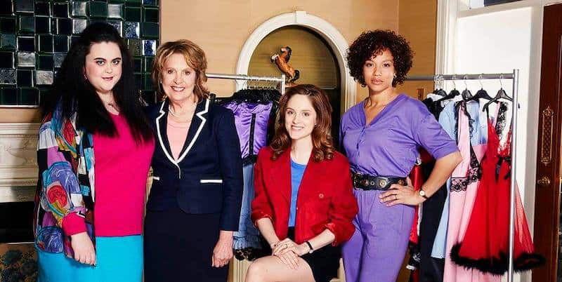 Angela Griffin, Penelope Wilton, Sophie Rundle, and Sharon Rooney in Brief Encounters