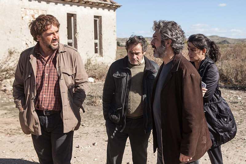 Javier Bardem, Penélope Cruz, Ricardo Darín, and Eduard Fernández in Everybody Knows