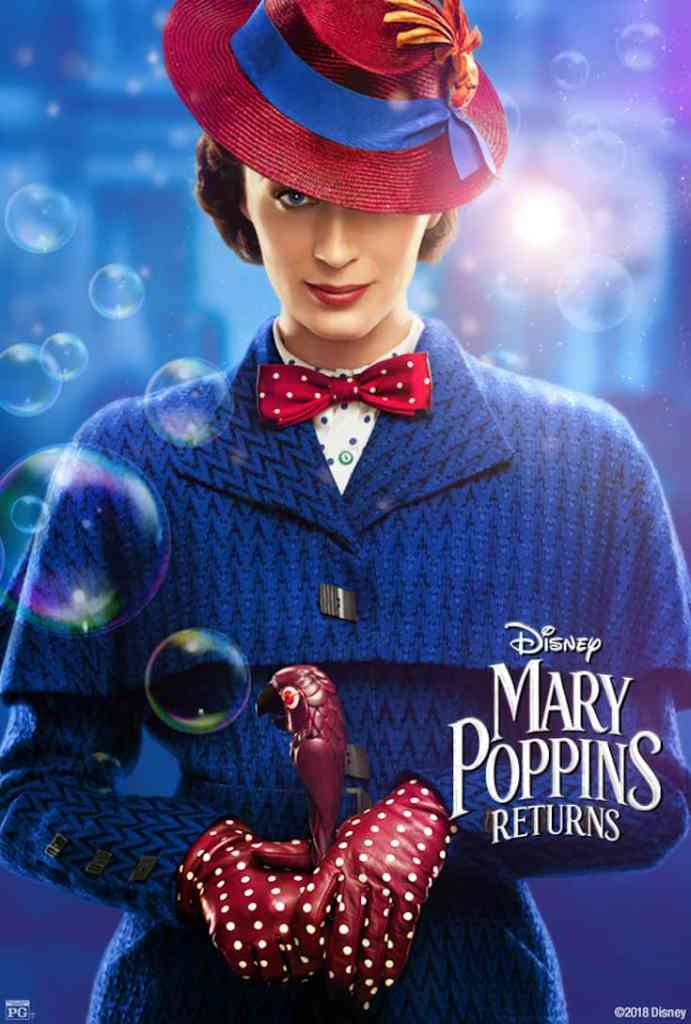 The Mary Poppins Returns poster