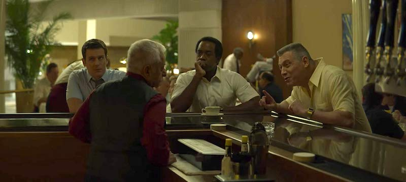 Holt McCallany, Albert Jones, Jonathan Groff, and Phil Nardozzi in Mindhunter