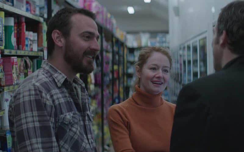 Miranda Otto and Ewen Leslie in The Daughter