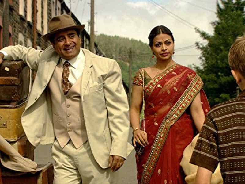 Sanjeev Bhaskar and Ayesha Dharker in The Indian Doctor
