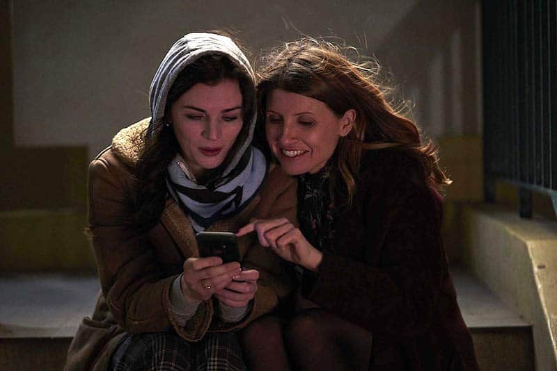 Aisling Bea and Sharon Horgan in This Way Up