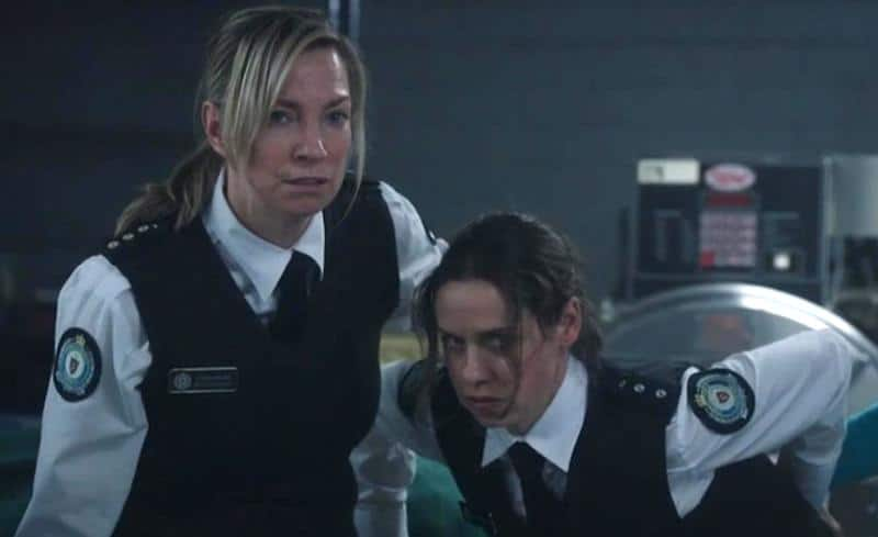 Kate Atkinson and Jacqueline Brennan in Wentworth