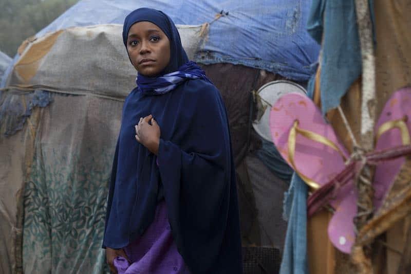 Aja Naomi King in A Girl from Modgadishu