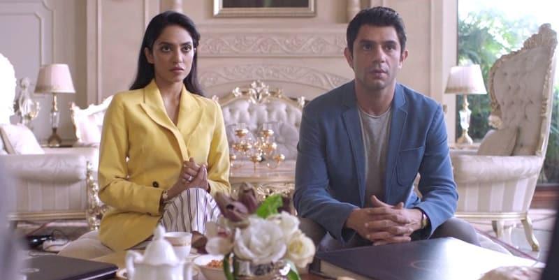 Arjun Mathur and Sobhita Dhulipala in Made in Heaven