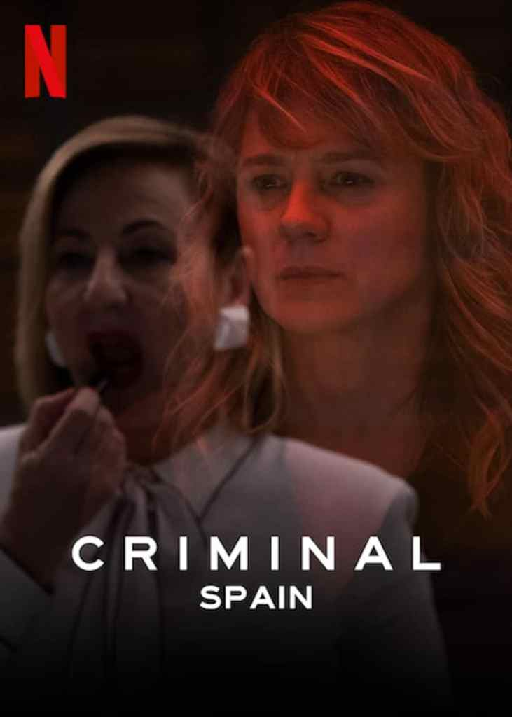 The poster for Criminal: Spain