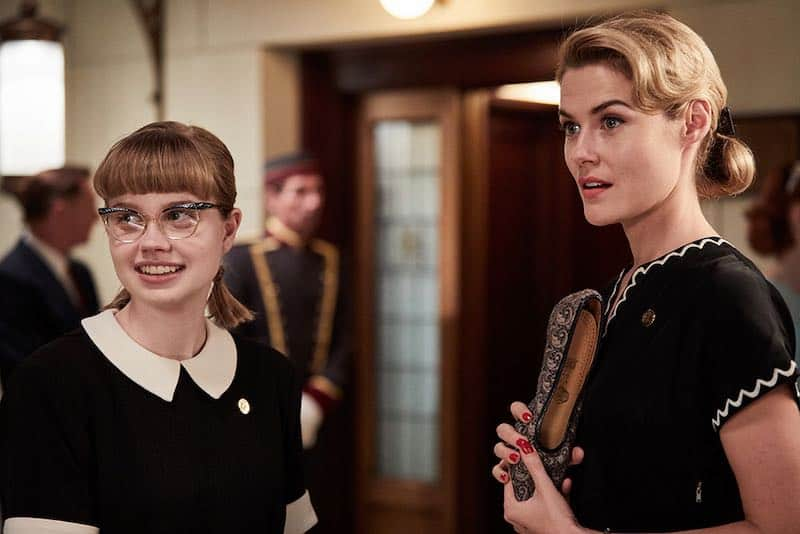 Rachael Taylor and Angourie Rice in Ladies in Black
