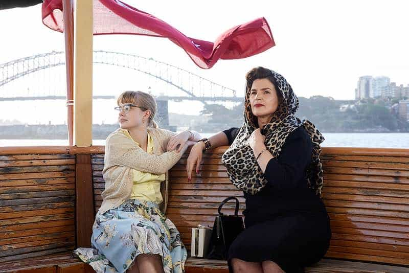 Julia Ormond and Angourie Rice in Ladies in Black