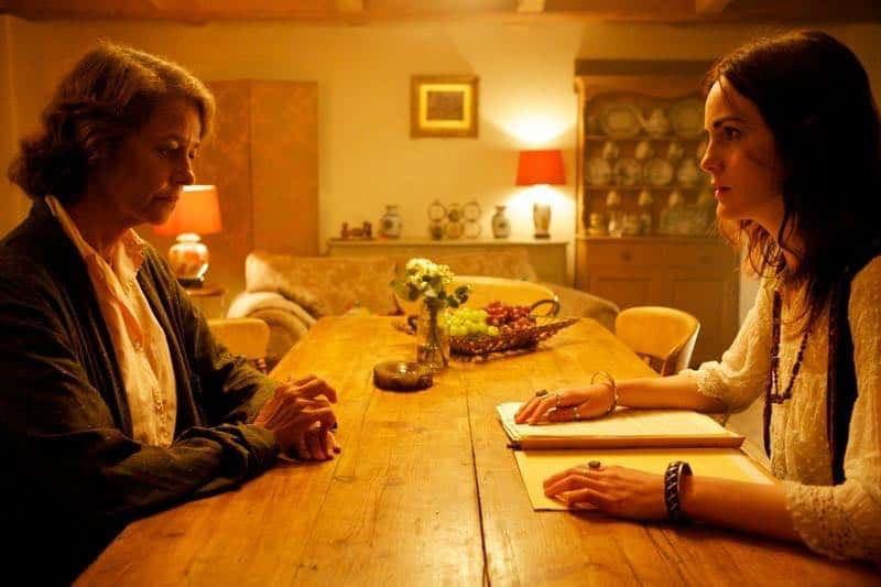 Charlotte Rampling and Michelle Dockery in Restless