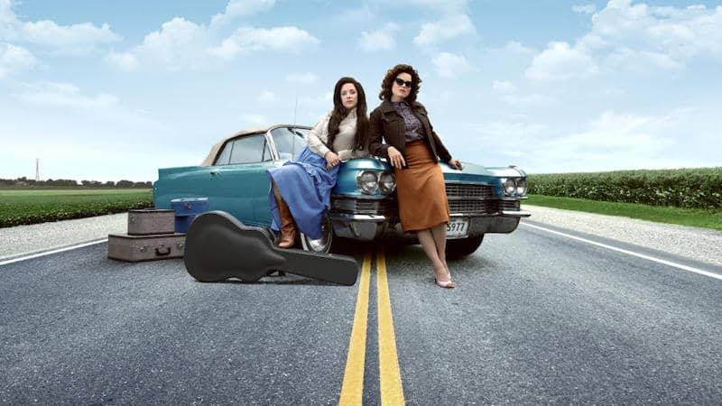 Jessie Mueller and Megan Hilty in Patsy & Loretta