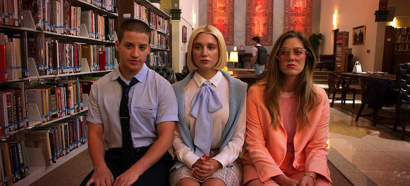 Laura Dreyfuss, Theo Germaine, and Julia Schlaepfer in The Politician
