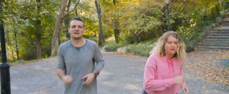 Micah Stock and Jillian Bell in Brittany Runs a Marathon