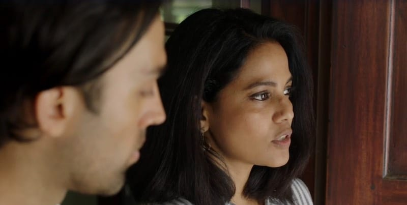 James Krishna Floyd and Priyanka Bose in The Good Karma Hospital
