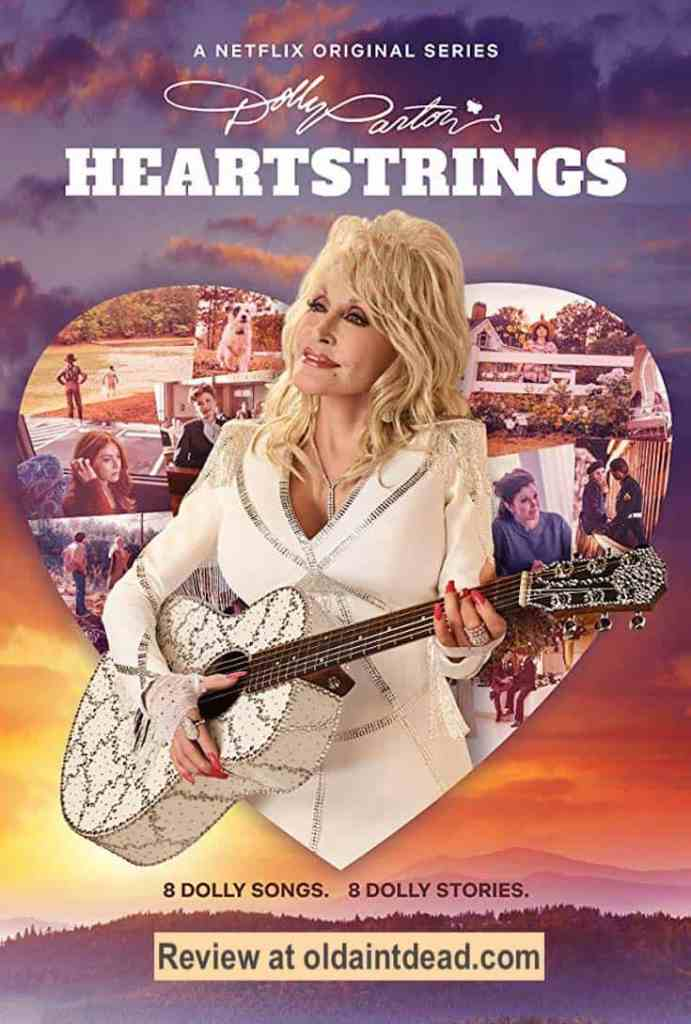 The poster for Dolly Parton's Heartstrings