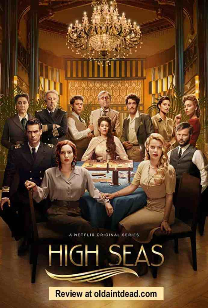The poster for HIgh Seas