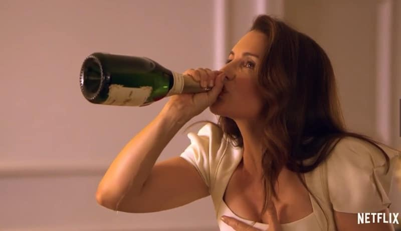 Kristin Davis in Holiday in the Wild