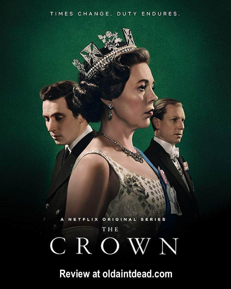 The poster for the crown.