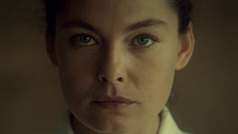 Alexa Davalos in The Man in the High Castle