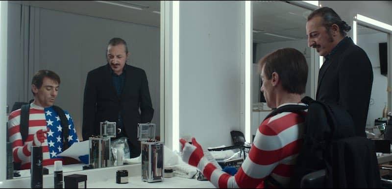 Elio Germano and Vincent Scarito in The Man Without Gravity (L'uomo senza gravità)