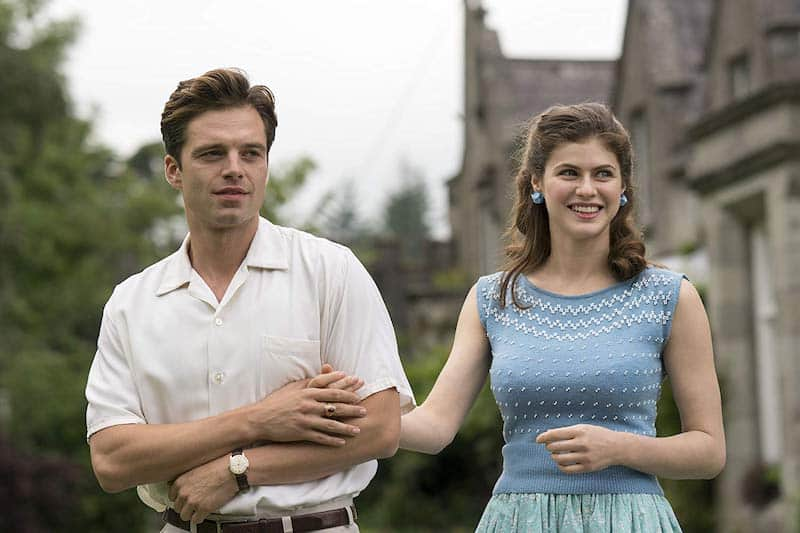 Alexandra Daddario and Sebastian Stan in We Have Always Lived in the Castle