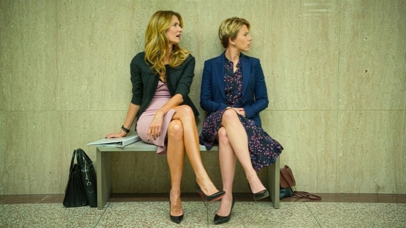 Laura Dern and Scarlett Johansson in Marriage Story