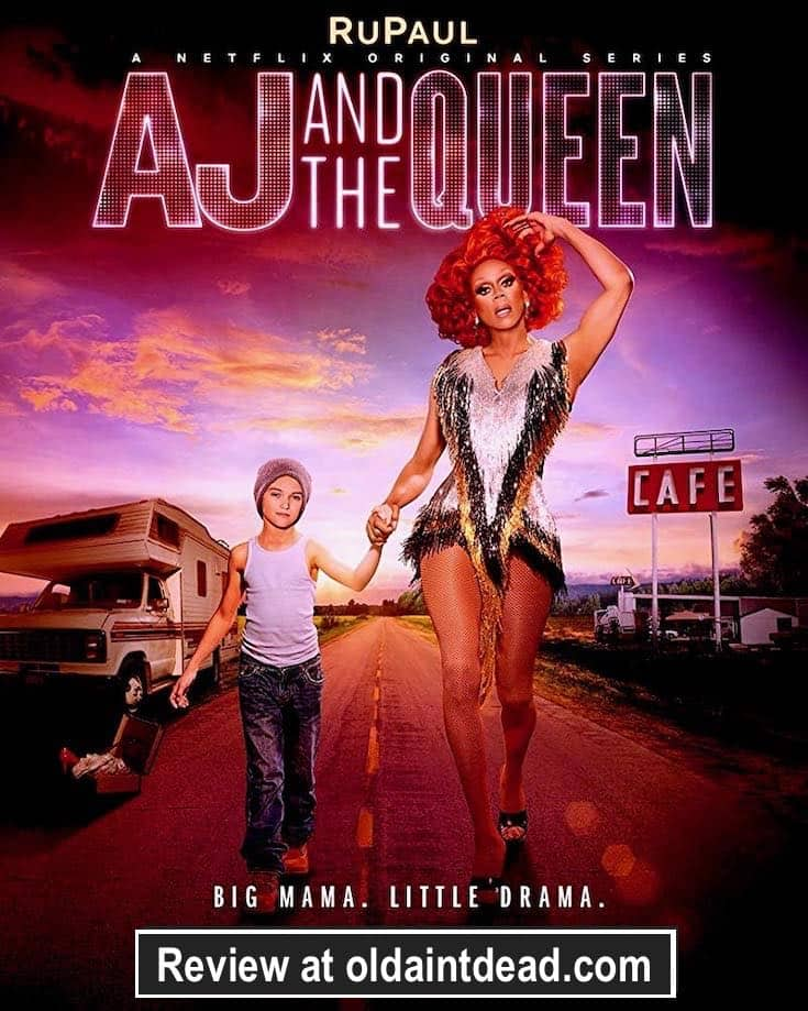 AJ and the Queen poster