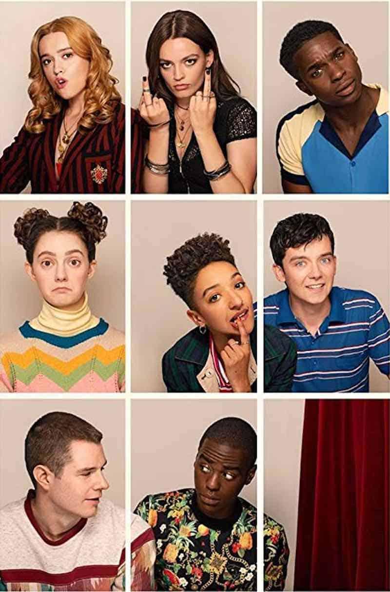 Sex Education cast members