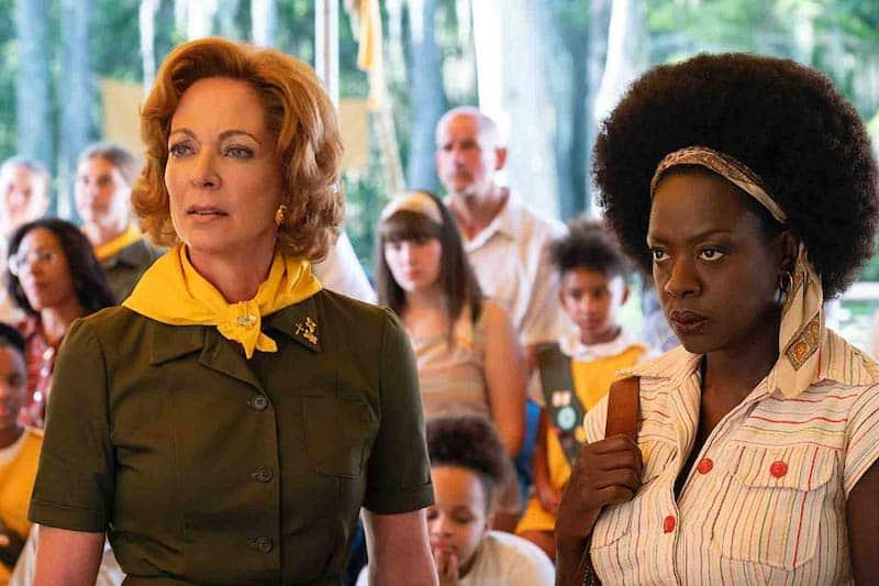 Allison Janney and Viola Davis in Troop Zero