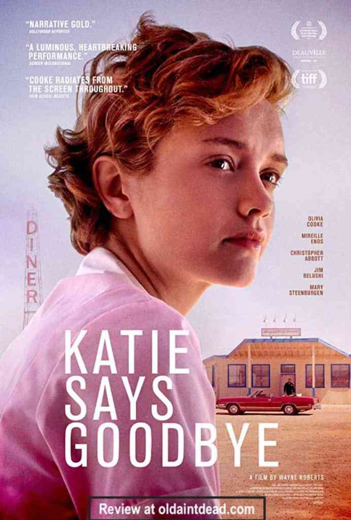 The poster for Katie Says Goodbye