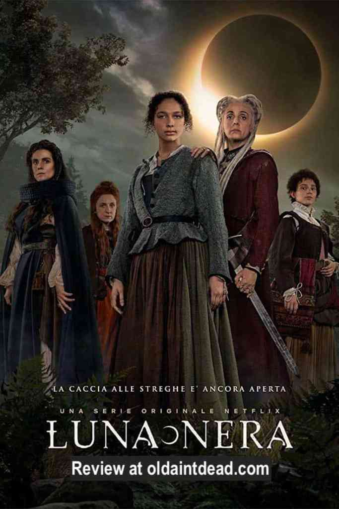The poster for Luna Nera