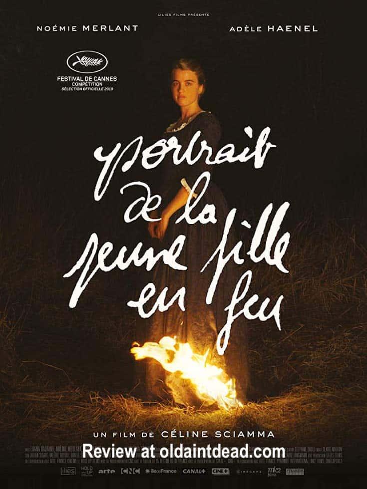 Poster for Portrait of a Lady on Fire or Portrait de la jeune fille en feu
