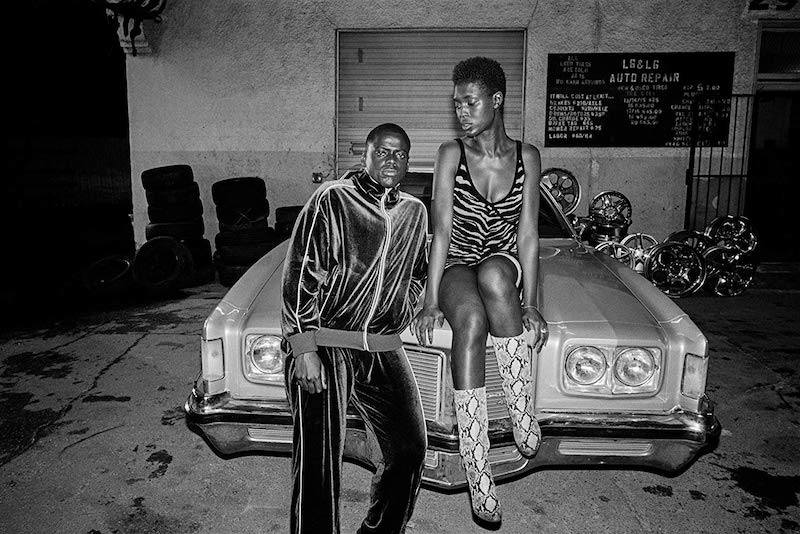 Daniel Kaluuya and Jodie Turner-Smith in Queen & Slim