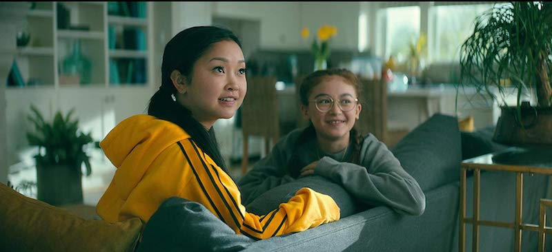 Lana Condor and Anna Cathcart in To All the Boys: P.S. I Still Love You