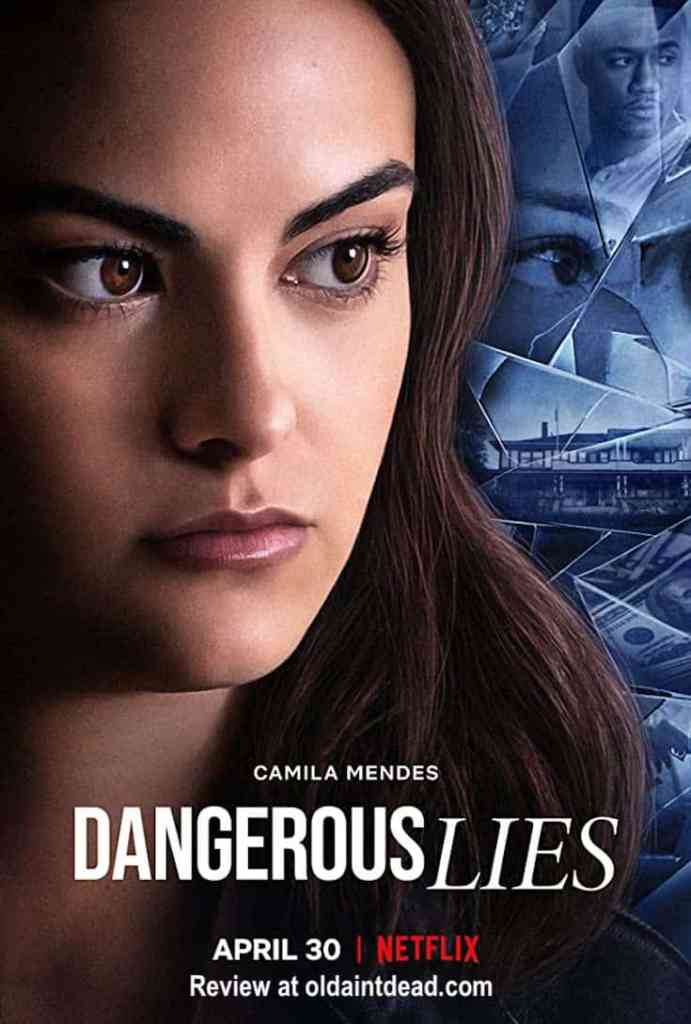 the poster for Dangerous Lies