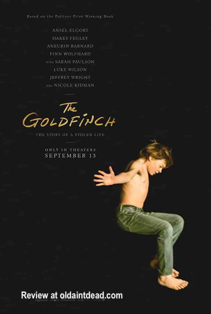 The Goldfinch poster
