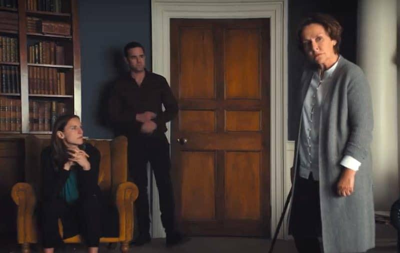Kelly Gough, Aaron McCusker and Amanda Burton in Marcella, season 3
